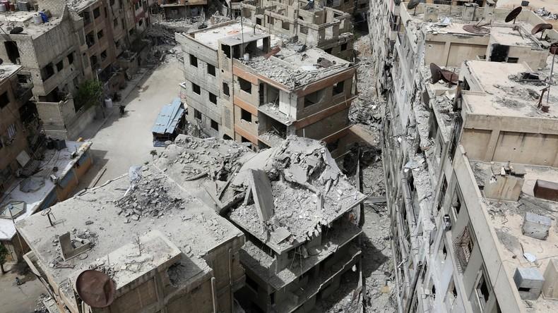 Russisches Verteidigungsministerium spürt Rebellen-Chemiewaffenlabor im syrischen Duma auf