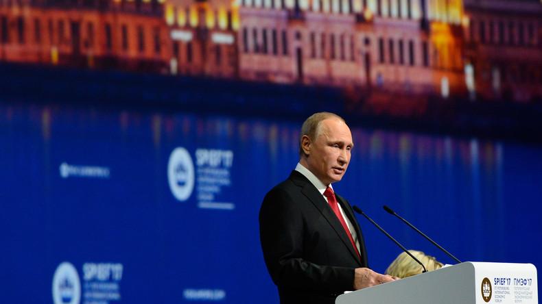 Sankt Petersburg: Veranstaltungsprogramm für 22. Internationales Wirtschaftsforum steht fest