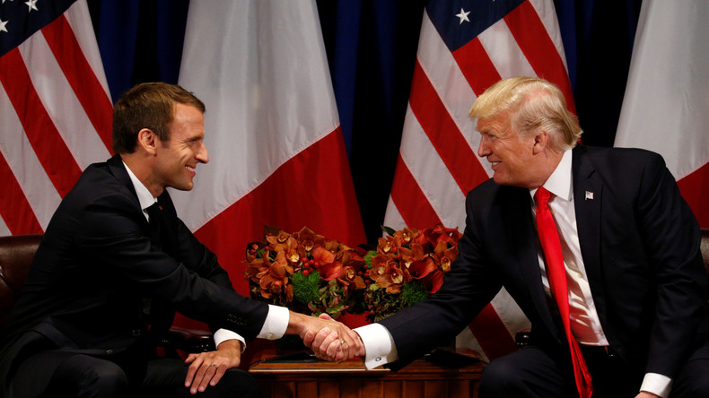 Macron rudert zurück: USA nicht langfristig in Syrien