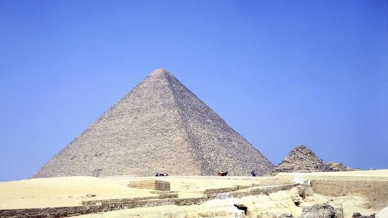 Sensationeller Fund: Wissenschaftler entdecken riesigen Hohlraum in Cheops-Pyramide in Giseh