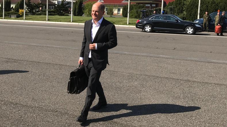 Vizekanzler Scholz trifft US-Vizepräsident Pence: Strafzölle, Syrien und Russland auf der Agenda