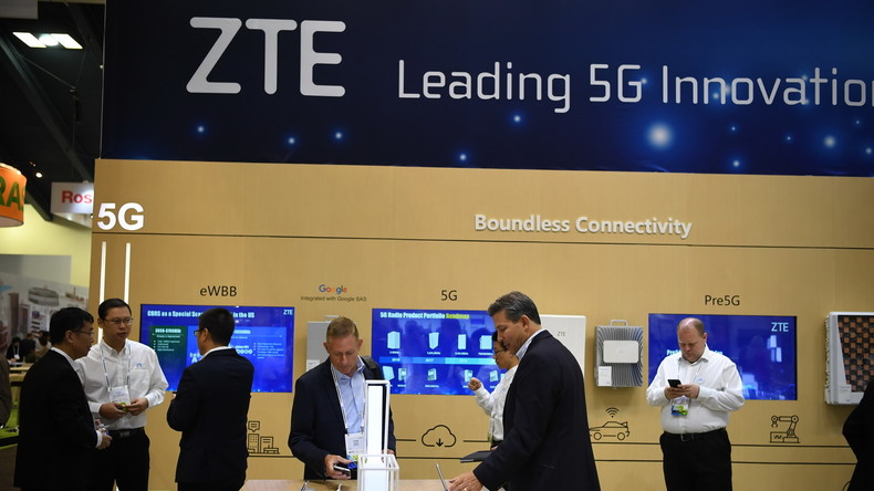 Globalisierung macht faul: Chinas ZTE Corporation nach US-Chip-Exportverbot in der Bredouille