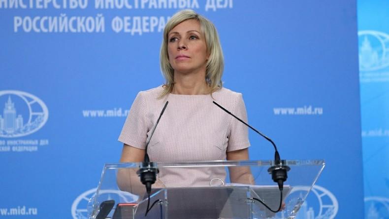 LIVE: Pressekonferenz des russischen Außenministeriums zu Syrien und Verhältnis zu Deutschland