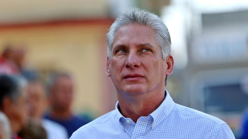 Kuba: Miguel Díaz-Canel zu Castros Nachfolger als Präsident gewählt