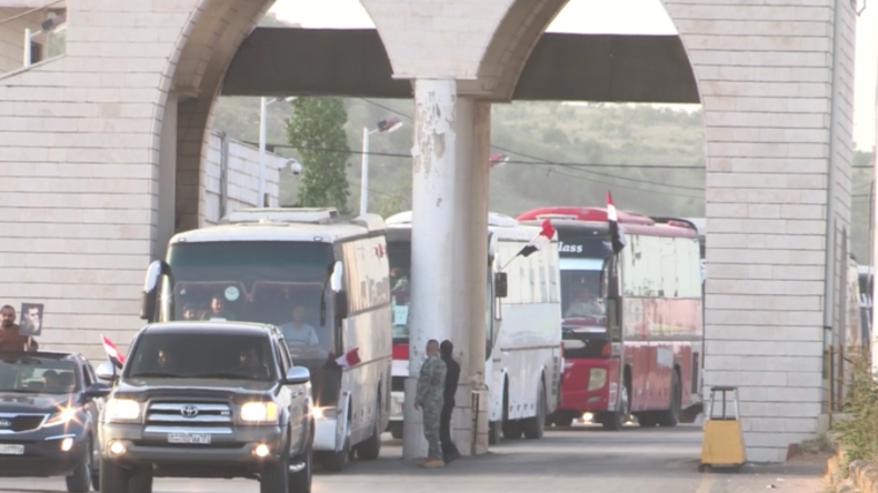 Nach Befreiung Ost-Ghutas: Hunderte Flüchtlinge kehren aus dem Ausland in ihre Heimat zurück