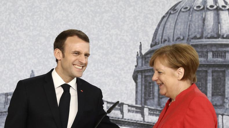 Macron trifft Merkel in Berlin: Schönes Wetter, aber kein eitel Sonnenschein