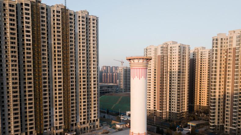 Frischer Wind: China errichtet den größten Luftreiniger der Welt als 60 Meter hohen Turm