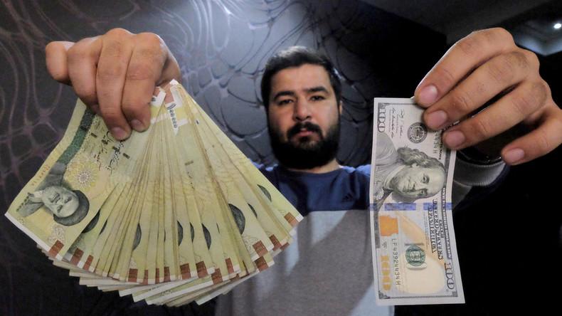 Iran stoppt US-Dollar: Wirtschaft wickelt Auslandshandel nur noch in Euro ab