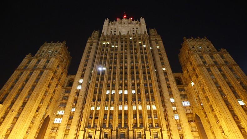 Russisches Außenministerium wegen Bombendrohung evakuiert