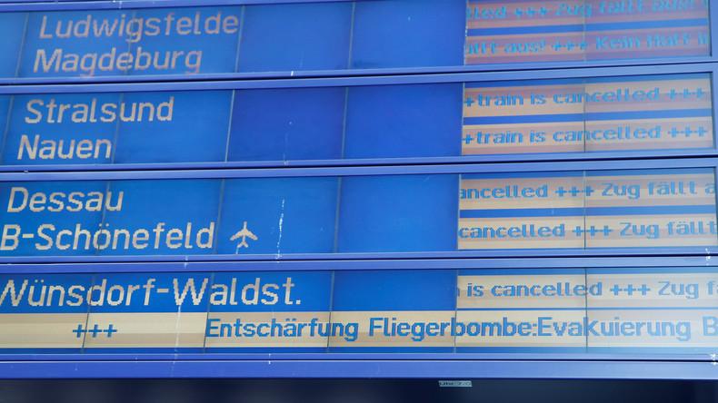 Bombenentschärfung am Berliner Hauptbahnhof - 10.000 Menschen müssen evakuiert werden