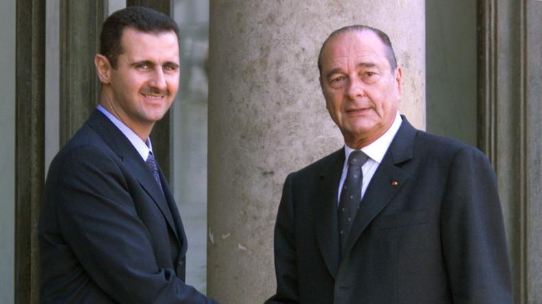 """Baschar al-Assad schickt Ehrenlegion-Orden an """"von den USA versklavtes"""" Frankreich zurück"""