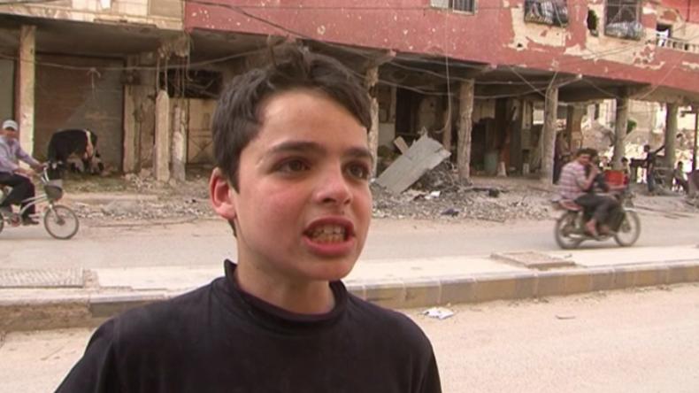 """Wie das Leben unter den """"Rebellen"""" wirklich war - Einwohner aus Duma sprechen vor der Kamera"""