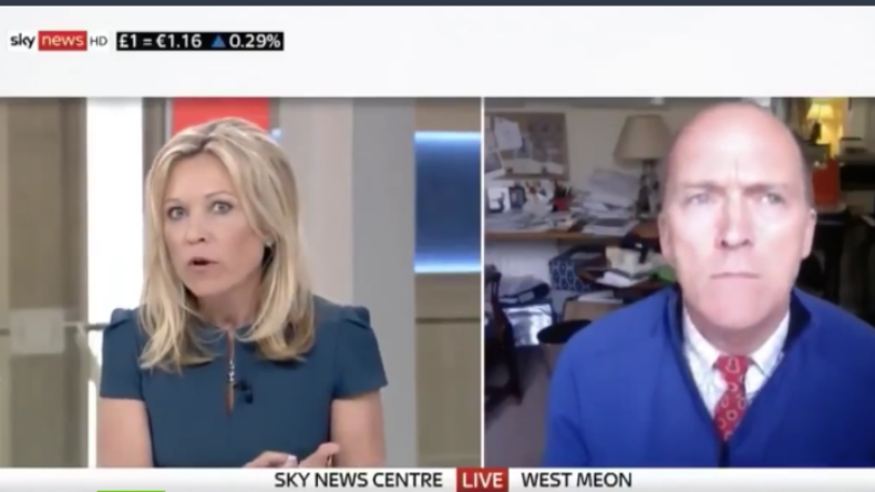 Gegenrede unerwünscht: Sky News würgt kritische Stimme zu Giftgas-Angriff in Syrien ab