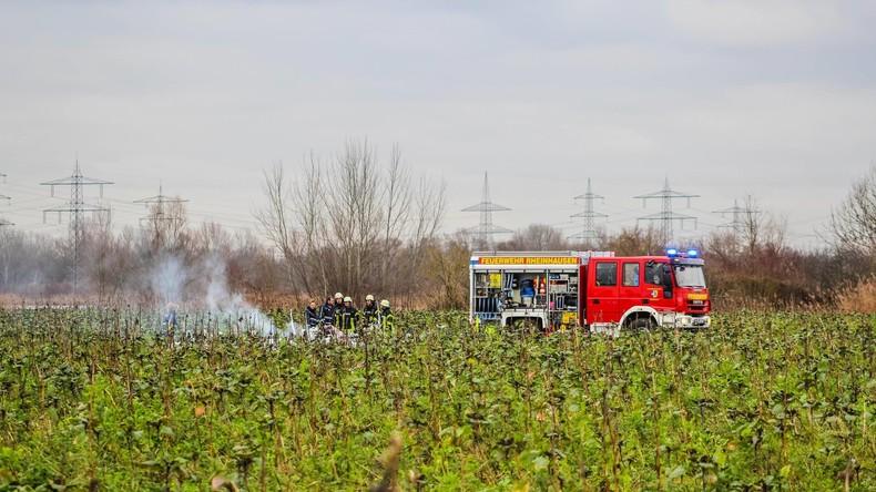 Baden-Württemberg: Kleinflugzeug stößt mit Hubschrauber zusammen - vier Tote
