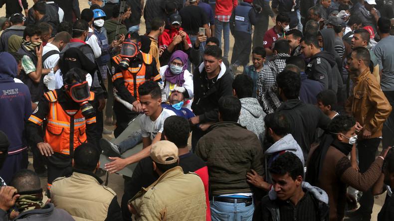 """Unruhen in Gaza: """"Ärzte ohne Grenzen"""" haben bereits über 500 angeschossene Palästinenser versorgt"""