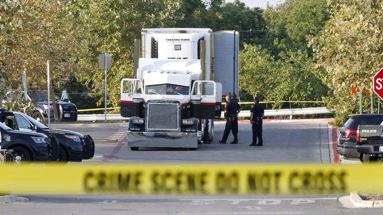 Tote Migranten im Lastwagen: US-Gericht verurteilt Lkw-Fahrer zu lebenslänglich