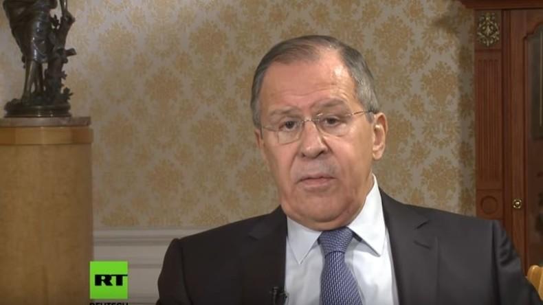 Russlands Außenminister Lawrow zu BBC: Derzeitige Lage ist schlimmer als im Kalten Krieg