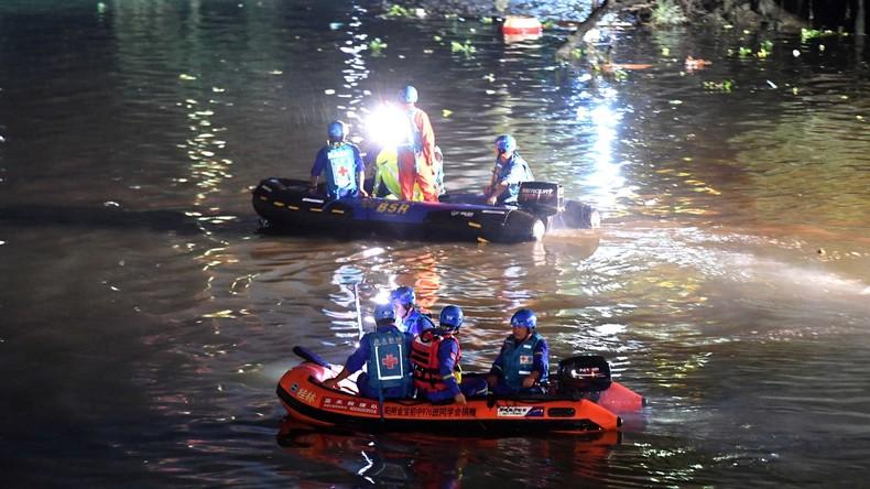 Drachenboot-Unfall in China: Zahl der Todesopfer steigt auf 17