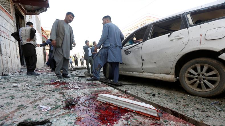 Anschlag in Kabul fordert mindestens 31 Menschenleben