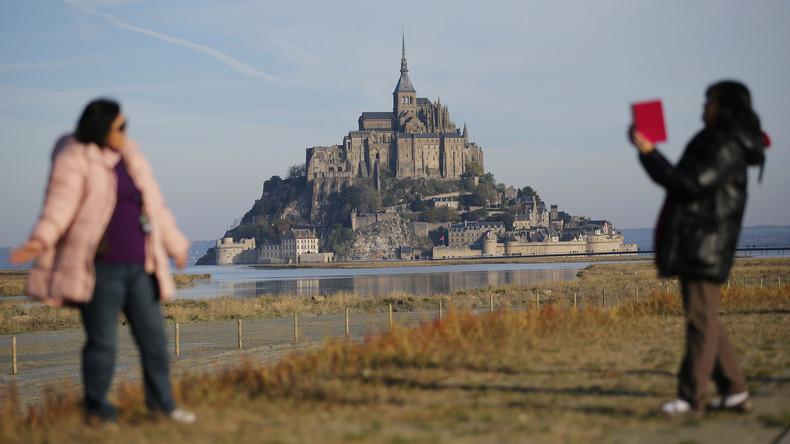 Französische Polizei evakuiert Felseninsel Mont-Saint-Michel nach Drohungen an Beamte