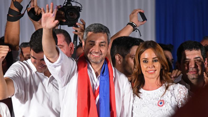 Regierungskandidat Abdo siegt bei Präsidentenwahl in Paraguay