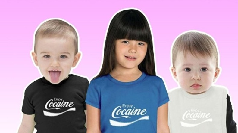 """Enjoy Cocaine"": Amazon entfernt fragwürdige Kinderkleidung aus Sortiment"