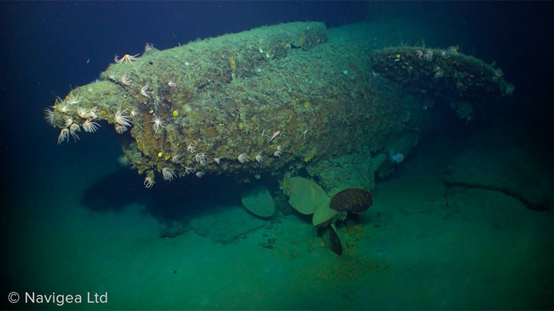 Papua-Neuguinea: Tiefseedrohne filmt mysteriöses U-Boot aus dem Ersten Weltkrieg