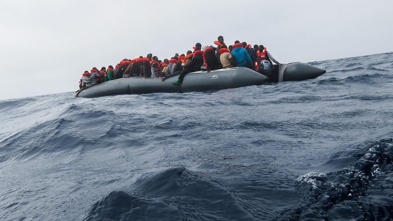 Küstenwache rettet mehr als 1.000 Migranten im Mittelmeer  - elf Tote