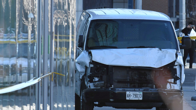Zehn Tote und 15 Verletzte in Toronto - Motiv des Fahrers weiterhin ungeklärt