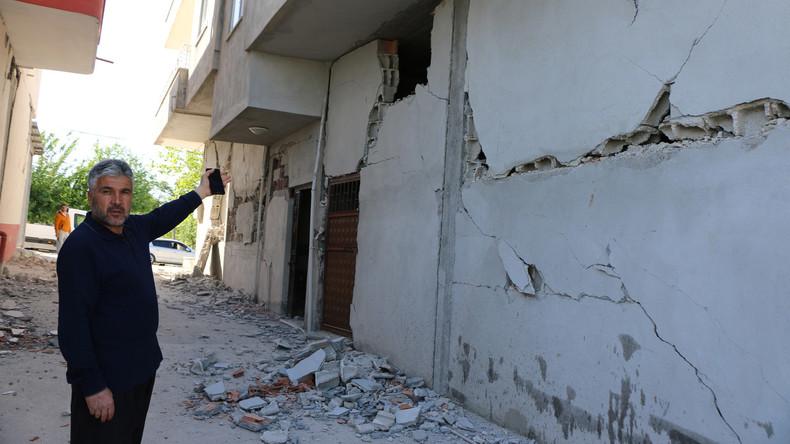 Erdbeben erschüttert Türkei - fast 40 Verletzte