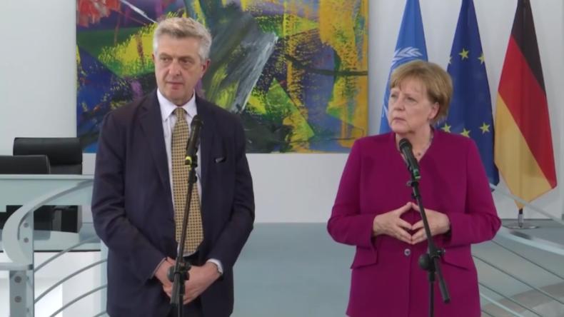 Berlin: Merkel will 10.000 Flüchtlinge des UNCHR auf legalem Weg nach Deutschland holen