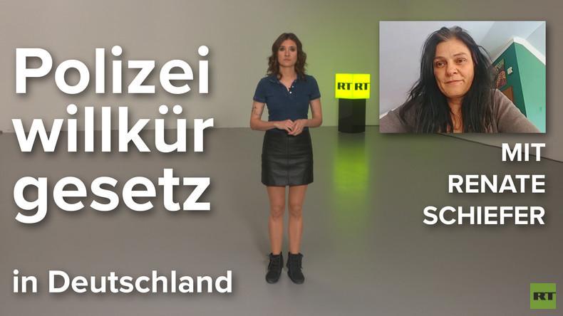 Renate Schiefer über das Polizeiaufgabengesetz in Bayern und die Großdemo dagegen (Video)