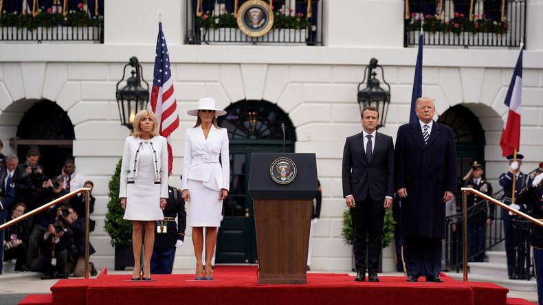 LIVE:  Trump und Macron halten Pressekonferenz in Washington D.C.