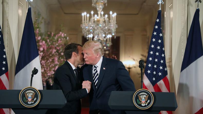 Macron: Frankreich will mit den USA an einem neuen Atomabkommen mit dem Iran arbeiten
