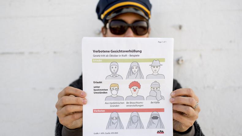 Wien: Leukämiekranker mit Mundschutz gerät wegen Burkaverbots in Polizeisperre
