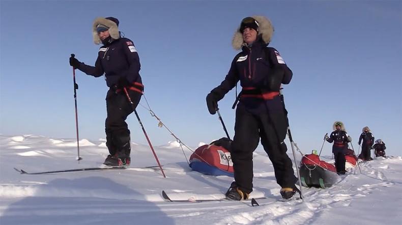 An der Spitze der Welt: Frauen aus Europa und dem Nahen Osten erobern gemeinsam Nordpol
