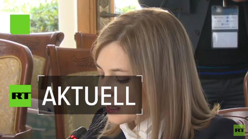 """""""Die Krim gehört für immer zu Russland!"""" – Natalja Poklonskaja über die Wiedervereinigung (Video)"""