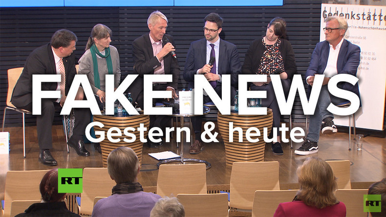 """""""Fake-News gestern und heute"""" - Eine Diskussion in der Konrad-Adenauer-Stiftung (Video)"""
