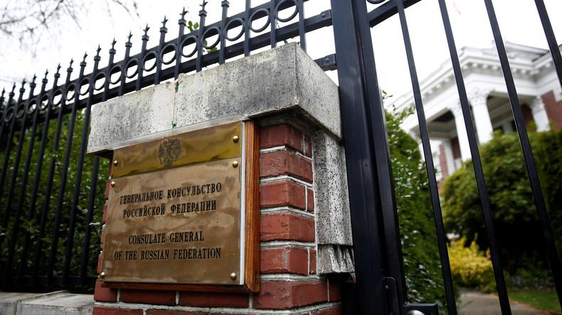 """US-Vertreter dringen ins russische Konsulat in Seattle ein: Moskau spricht von """"Raubüberfall"""""""