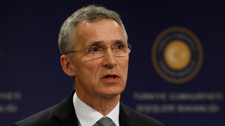 LIVE: Pressekonferenz von NATO-Generalsekretär Jens Stoltenberg vor NAC-Treffen