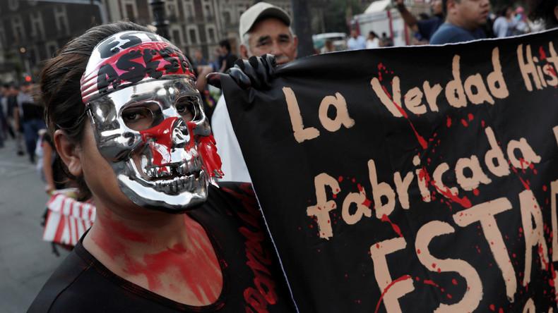 Getötet und in Säure aufgelöst: Wut in Mexikoüber weiteren Studentenmord