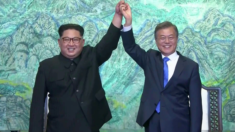 Neue Ära, kein Krieg mehr: Nord- und Süd-Korea einigen sich auf vollständige Entnuklearisierung