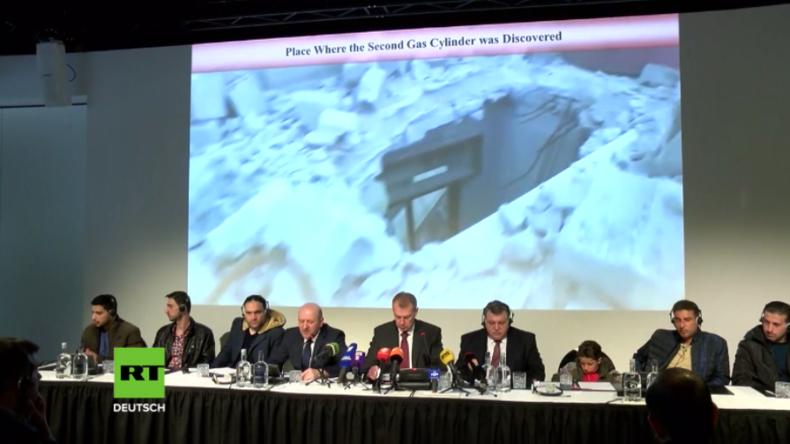 Westliche Lüge des angeblichen Giftgasangriffs in Duma entlarvt: Zeugen sprechen in Den Haag