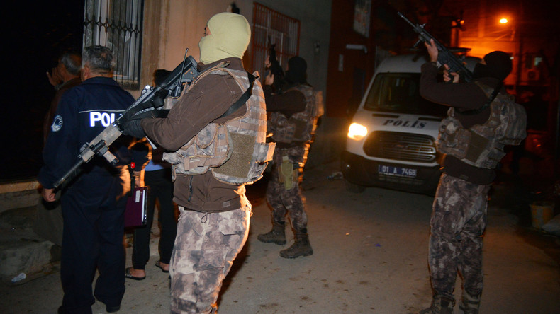 Türkische Polizei nimmt mutmaßliche hochrangige IS-Mitglieder in Gewahrsam