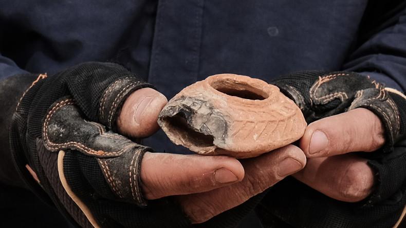 Römersiedlung beim Bau von Autobahn in Bulgarien entdeckt