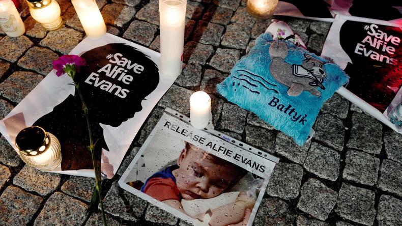 Der Kampf ist zu Ende: Schwer kranker Junge Alfie ist tot