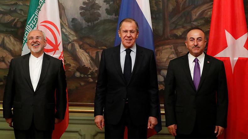 """""""Nicht alle fördern Frieden in Syrien"""" - Treffen der Außenminister Russlands, Irans und der Türkei"""