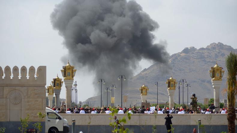 Huthi-Rebellen feuern Raketen in Richtung Saudi-Arabien