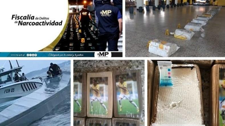 Guatemalas Marine stoppt Klein-U-Boot mit knapp einer Tonne Kokain an Bord