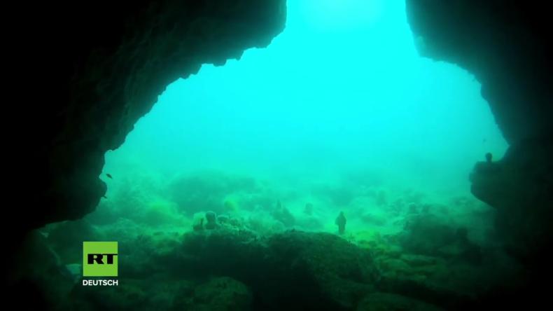 Besuch eines Unterwasser-Museums im Schwarzen Meer